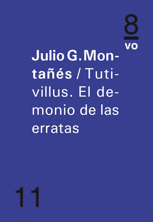 Tutivillus.  El demonio de las erratasJulio G. Montañés