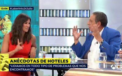 Entrevista a Roberto Baños en el programa Espejo Público, Antena 3