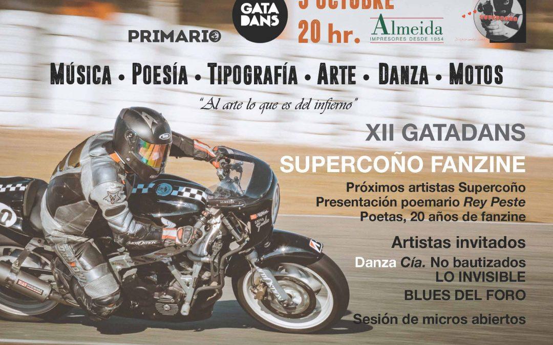 XII Gatadans, Supercoño Fanzine y Gráficas Almeida